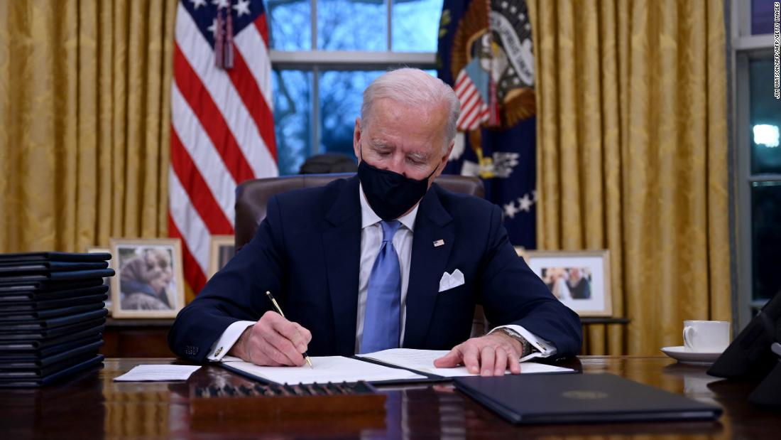 Biden's decrees vault America back onto the global stage. A whiplashed world wonders for how long