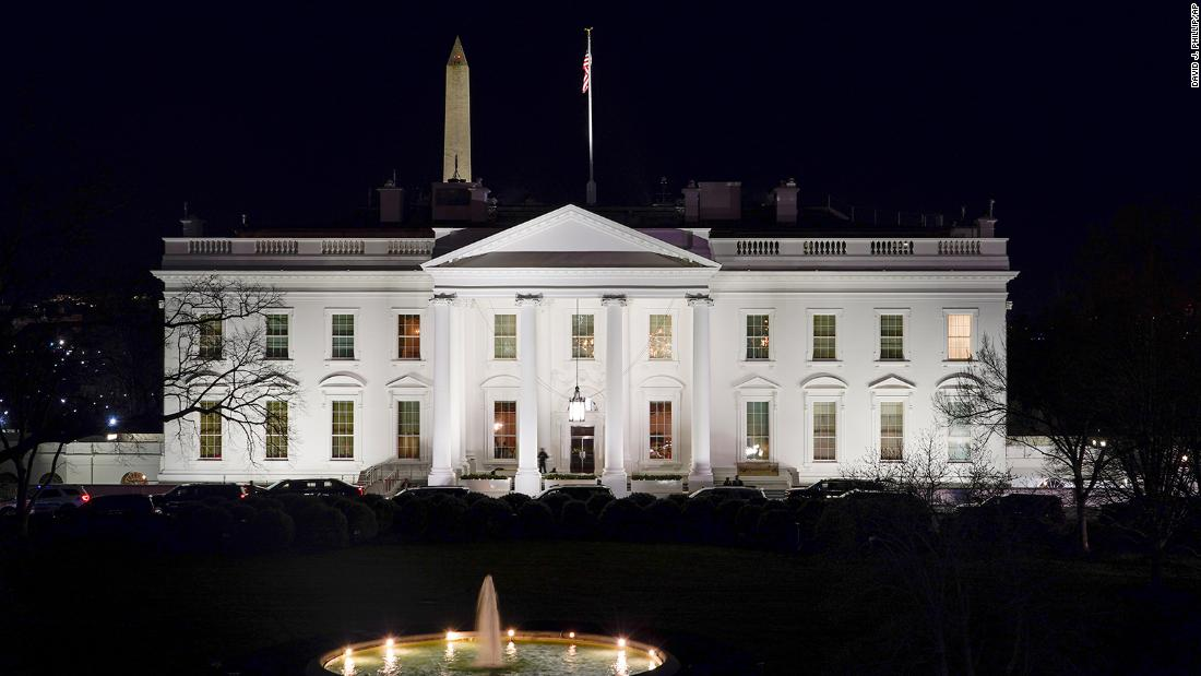 White House contact form now lets people choose their personal pronouns