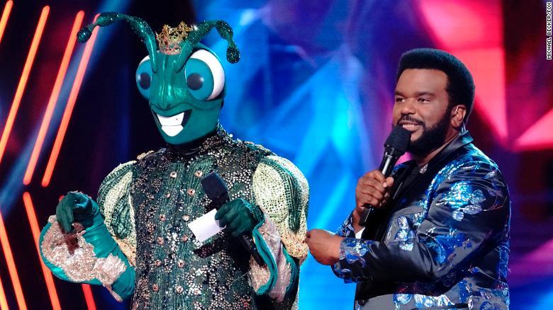 'The Masked Dancer' reveals the celebrity hiding under Cricket