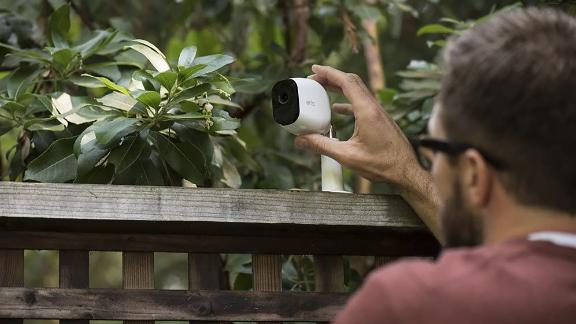 Factory Reconditioned Arlo Pro Security Camera System with 4 Cameras