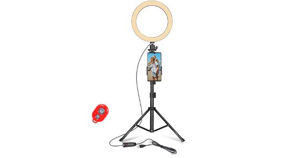 Emart 10-inch Selfie Ring Light
