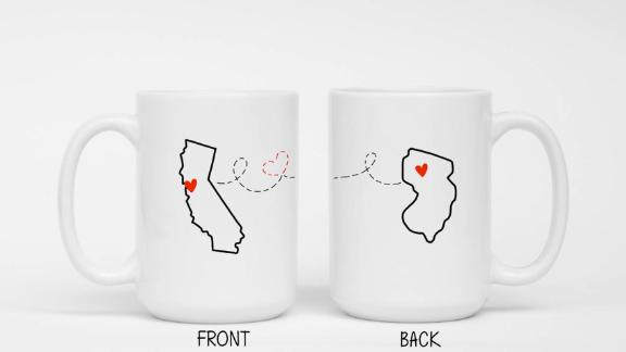 ShopKPP Custom Long Distance Relationship Coffee Cups