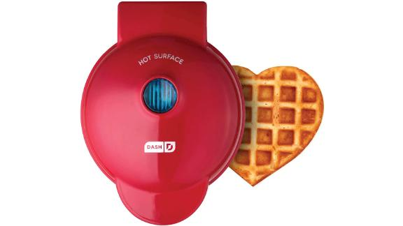 Dash Heart Shaped Mini Waffle Maker