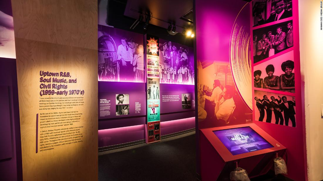Video Tour: National Museum of African American Music – CNN Video