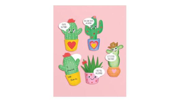 Paper Source Happy Plants Valentine Card Kit