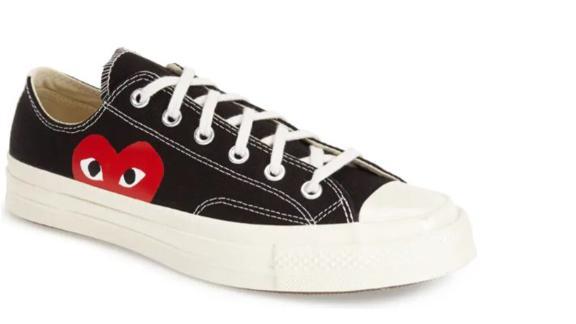 Commes Des Garçons Play x Converse Chuck Taylor Hidden Heart Low Top Sneaker