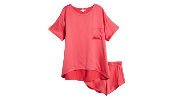 Lunya Washable Silk Short Pajamas
