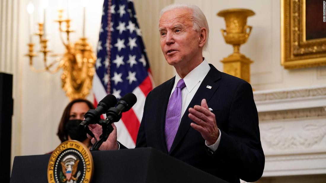 Analysis: The huge stakes of Biden's new Covid-19 plan
