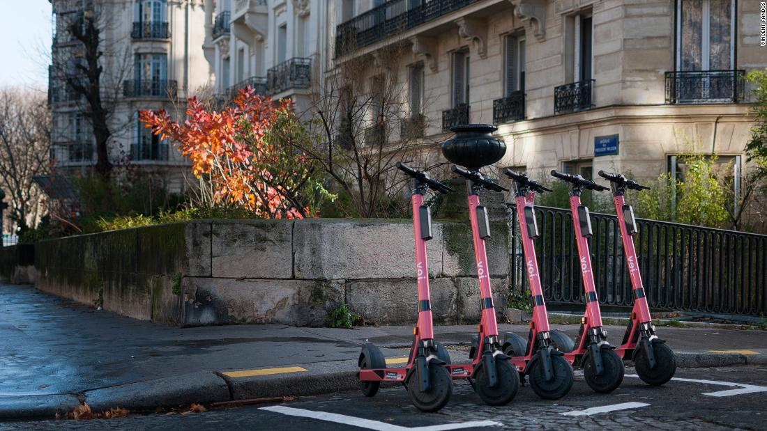 E-scooters embrace AI to cut down on pedestrian collisions