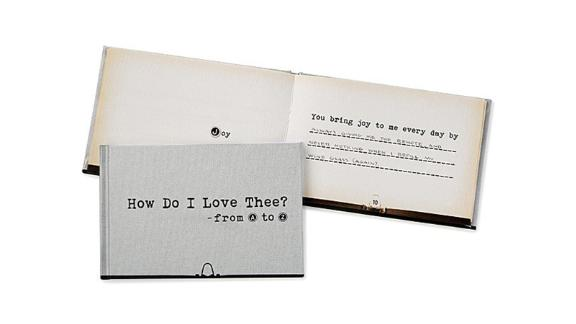 How Do I Love Thee From A-Z