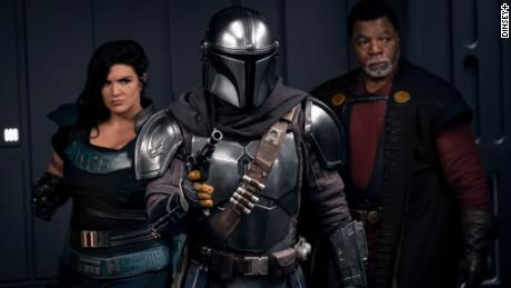 "Season 2 of ""The Mandalorian"" debuted on Disney+ in October 2020."