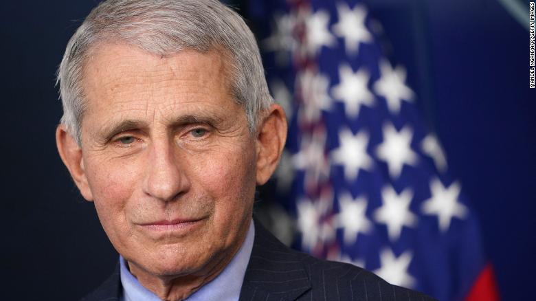 Anthony Fauci wins $1 million Israeli prize for his work on Covid-19 and other infectious diseases