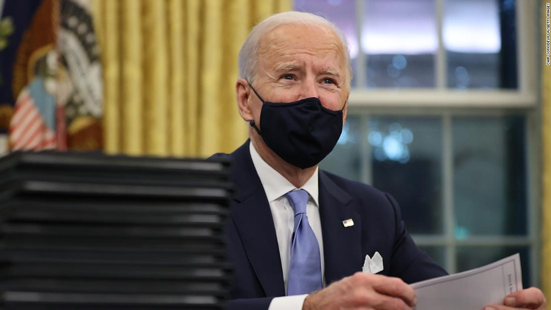Biden doubles down on executive orders