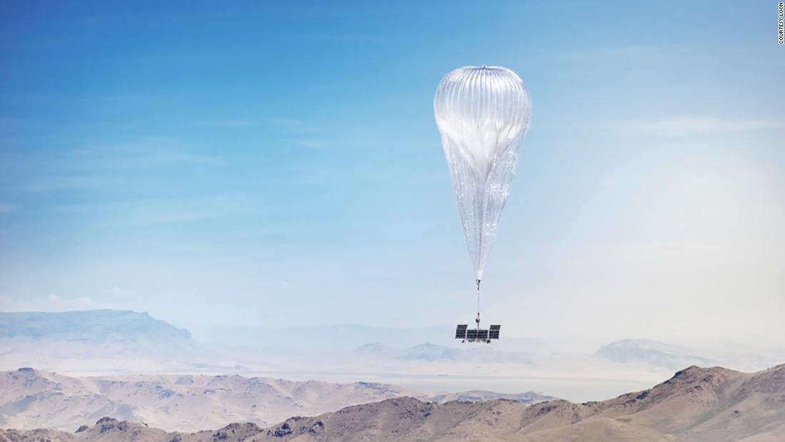 Alphabet is shutting down Loon, its ambitious internet balloon venture