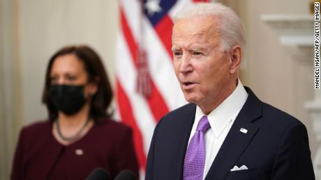 The White House wants Democrats to be patient in stimulus talks, while Biden insists on a bipartisan path, officials say