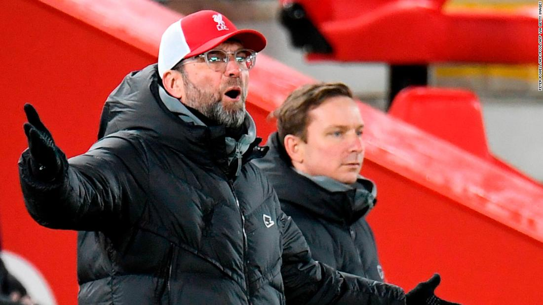 Liverpool's shock defeat to Burnley ends 68-game unbeaten run at Anfield