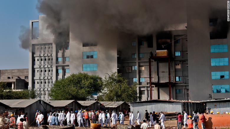 Blaze at facility of world's biggest vaccine maker kills 5 people