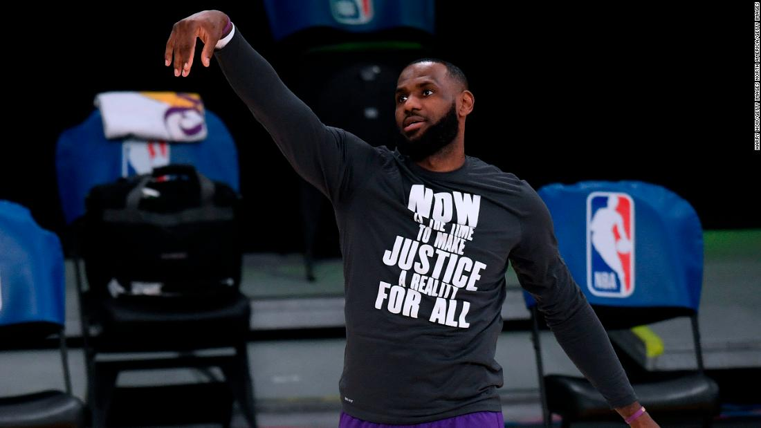 LeBron James says 'it would be great' for LA Lakers to visit the White House, should Covid-19 protocols allow