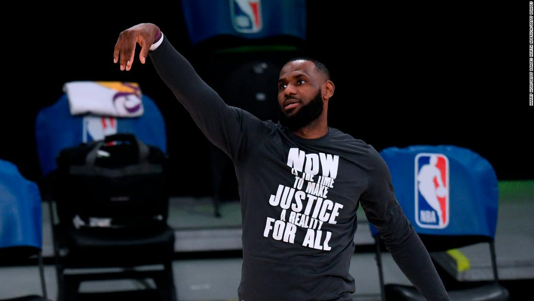 LeBron James says 'it would be great' for LA Lakers to visit the White House