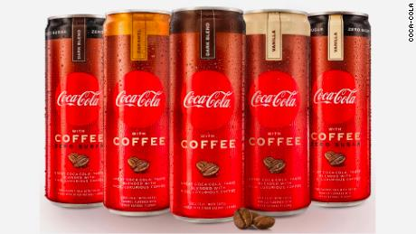 Coke wih Coffee arrives at US stores on Monday.
