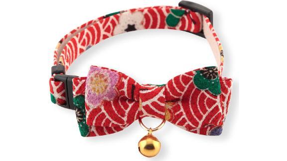 Necoichi Matsuri Bow Tie Cat Collar