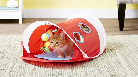 Hartz Just for Cats Peek & Play Tent