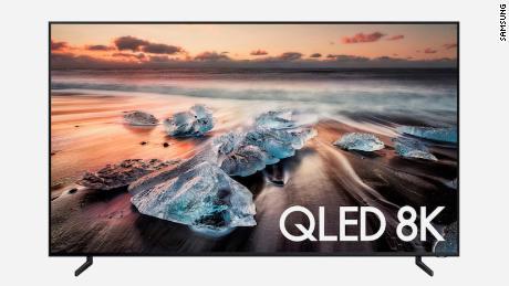 تلویزیون 98 اینچی سامسونگ Q900 کلاس QLED هوشمند 8K UHD