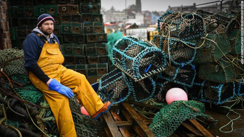 Scottish fishermen say Brexit threatens to kill their business