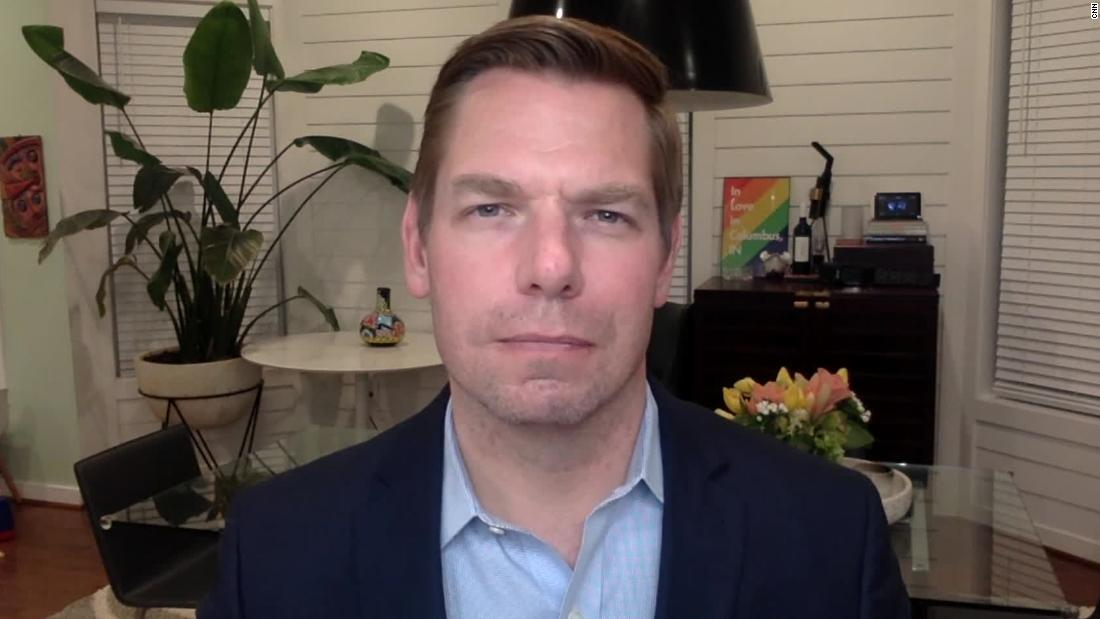Rep. Eric Swalwell on Trump impeachment trial: Every senator's vote is up for grabs - CNN Video