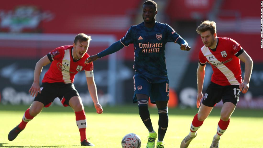 Arsenal knocked out of FA Cup with defeat by Southampton