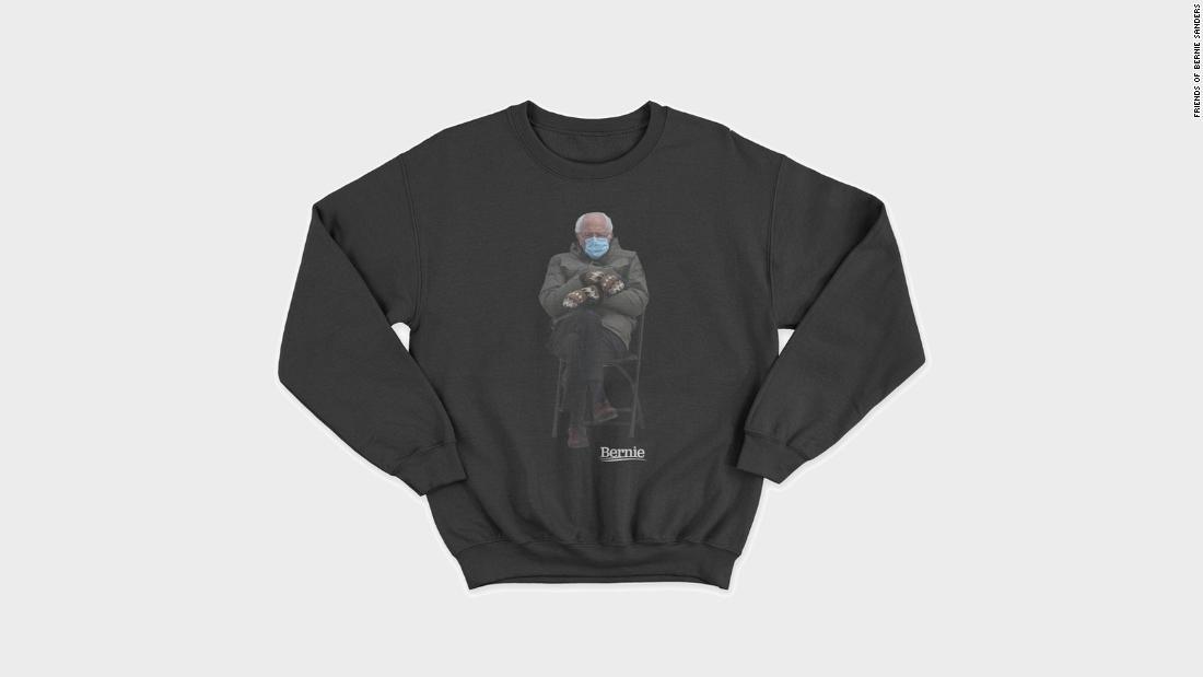 210123152935 bernie sanders sweatshirt meme super tease