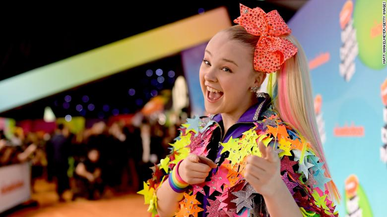 YouTube star Jojo Siwa comes out to her fans on her Instagram account