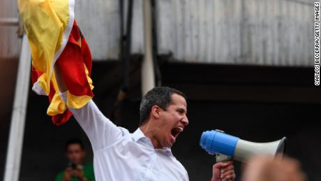 Guaidó remains in Caracas but his efforts to assume interim power have run aground.
