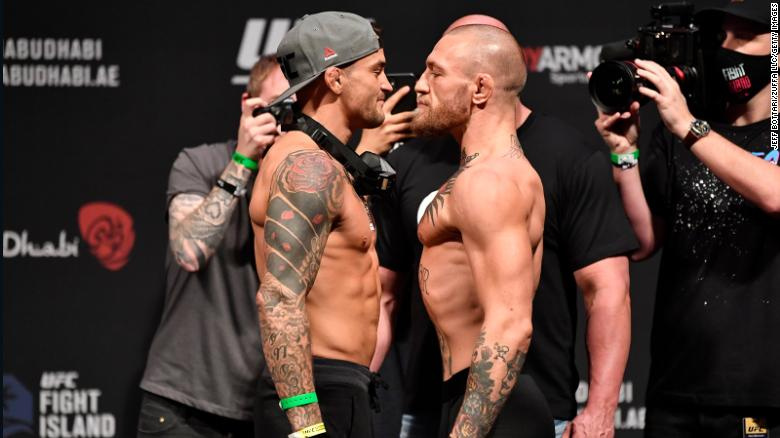 Dustin Poirier defeats Conor McGregor with a knockout in the 2nd round