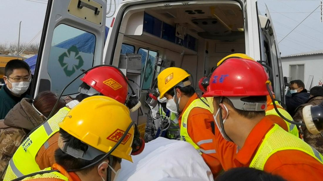 11 of 22 Chinese miners trapped in gold mine rescued