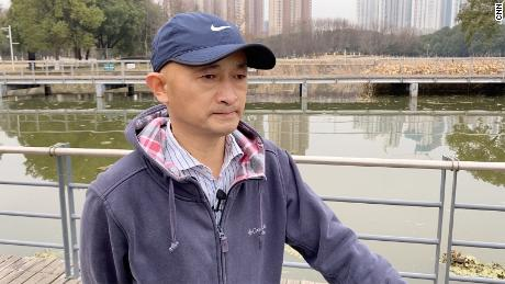 Zhang Hai is trying to sue the government for his father's death.