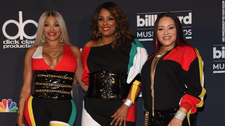 DJ Spinderella says she was 'wrongfully excluded' from Salt-N-Pepa's Lifetime biopic