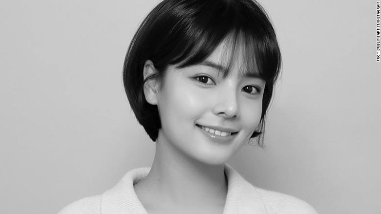 Song Yoo-jung, South Korean TV star, dead at 26