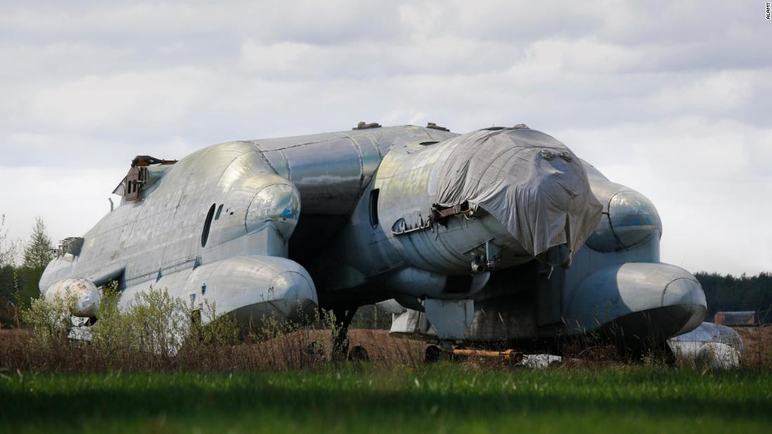 The Soviet flying beast that never quite took off