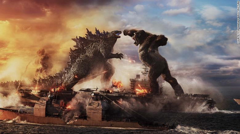 'Godzilla vs Kong' trailer offers first glimpse of epic monster showdown