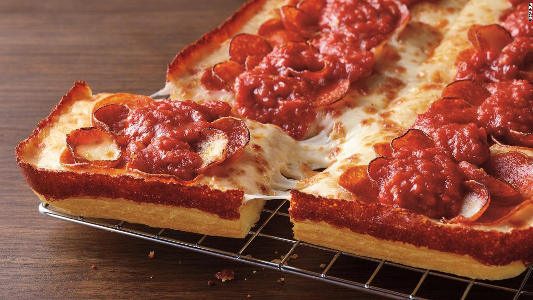 Pizza Hut debuts a new Detroit-style pizza – CNN
