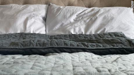 Weighted blankets have become somewhat mainstream as some people feel that the blankets improve sleep quality.