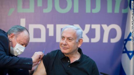 Netanyahu has made Israel's world-leading vaccination program the central message of his re-election campaign