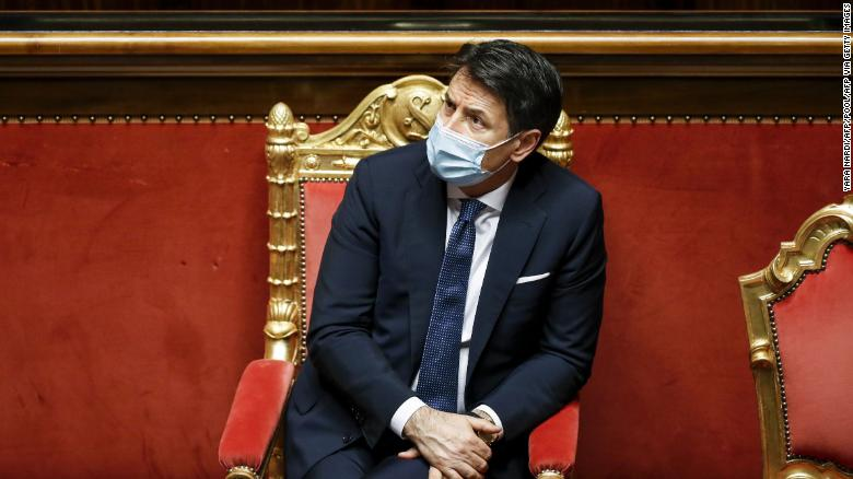 Italian Prime Minister Giuseppe Conte will resign amid pandemic and political turmoil