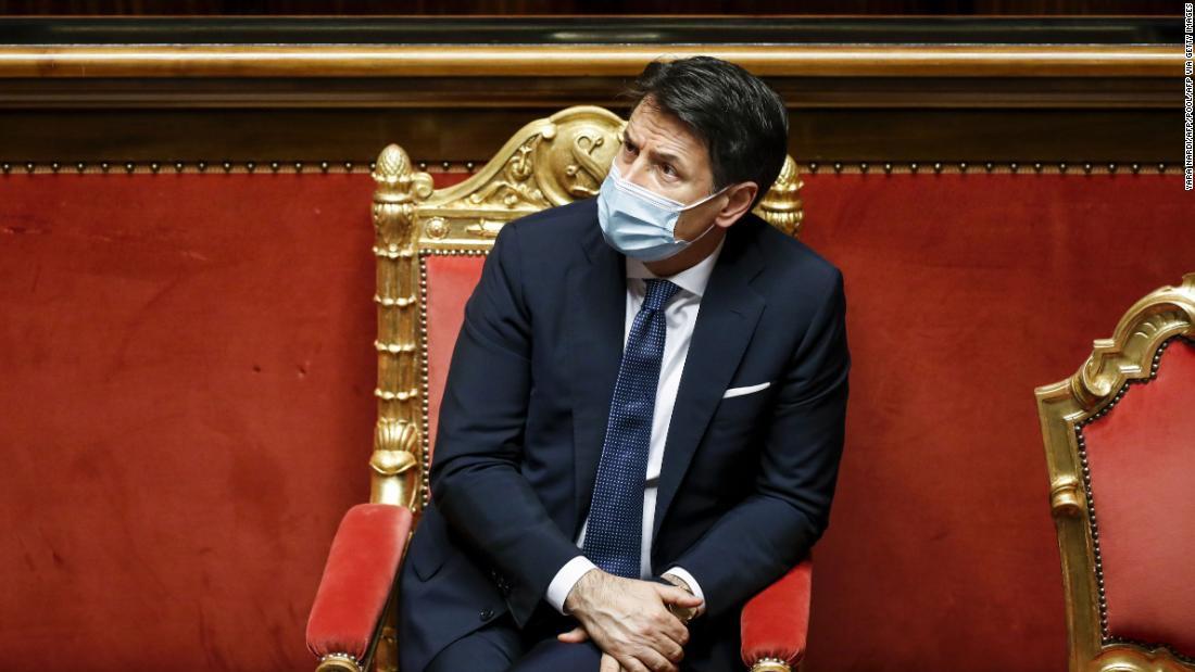Italian Prime Minister Giuseppe Conte will resign amid pandemic and political turmoil – CNN