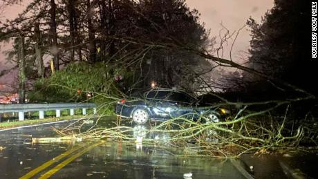 A tornado tore through the Birmingham area Monday night leaving significant damage.