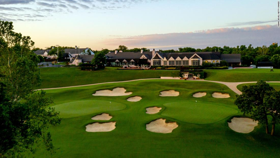 Tulsa course to host 2022 PGA Championship after event taken away from Trump National Golf Club