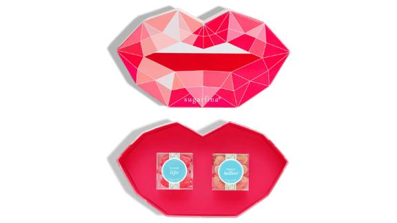 Sugarfina Pucker Up Set of 2 Candy Cubes