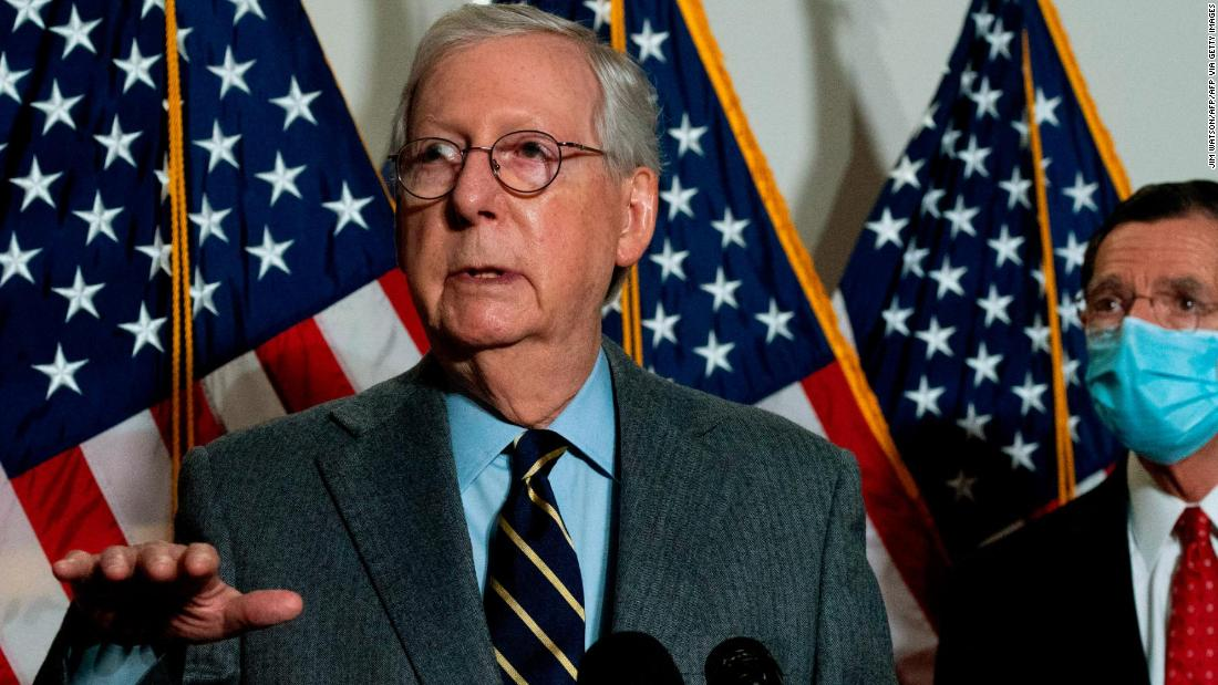 CNN breaks down McConnell's telling vote on impeachment trial