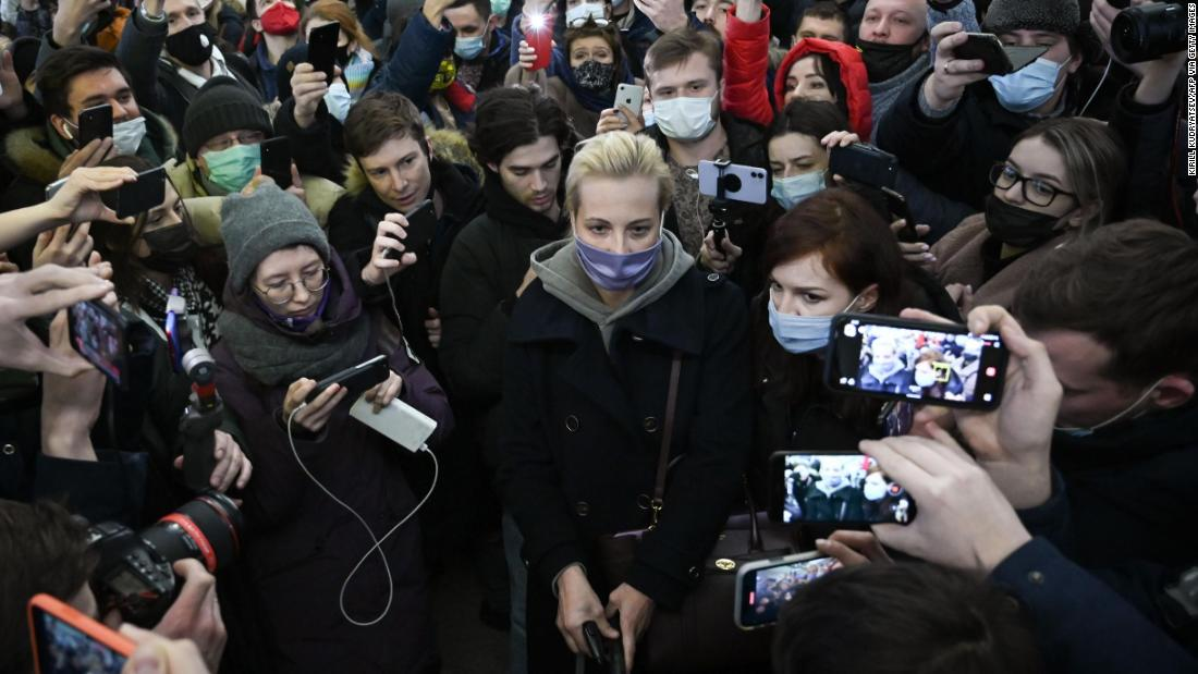 Yulia Navalnaya's husband was poisoned and detained. Now she is piling pressure on Vladimir Putin